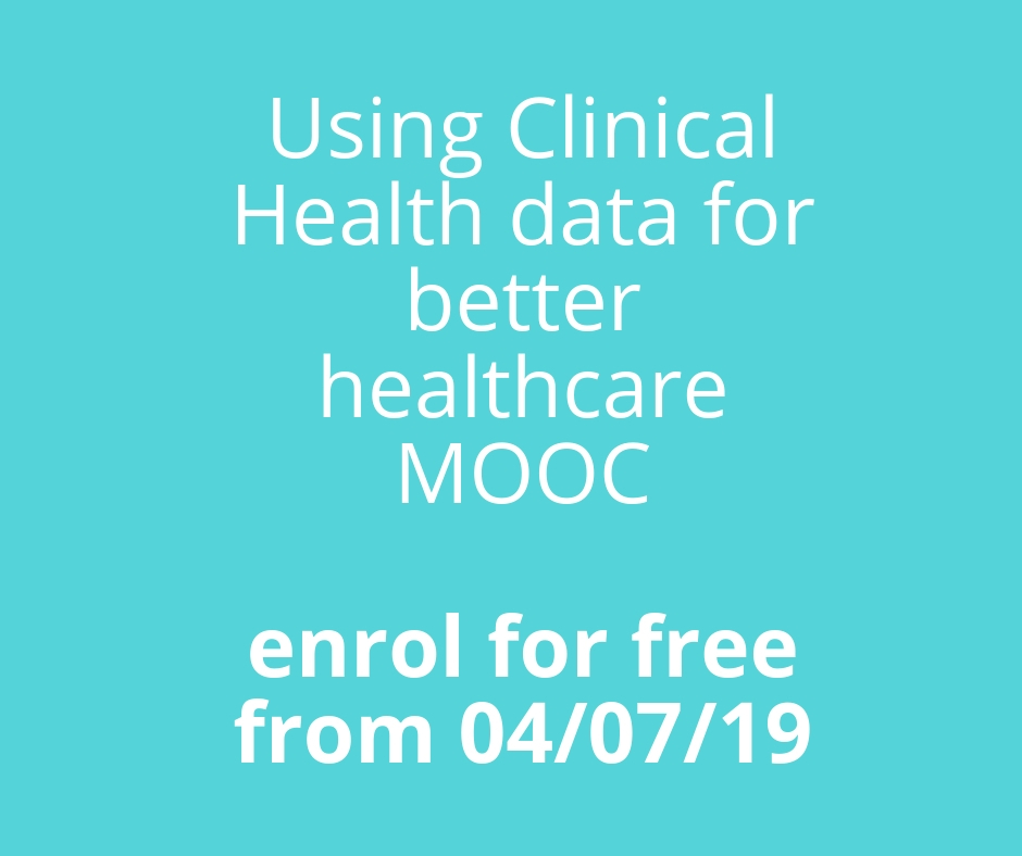 Using clincial health data for better healthcare MOOC
